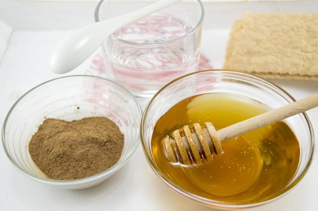 masque de cannelle et miel