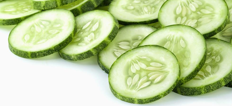 remède naturel contre la transpiration à base de concombre